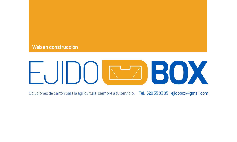 Ejidobox (Almería). Soluciones de cartón para el campo.
